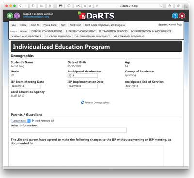 DaRTS 2014 Screen Shot 2