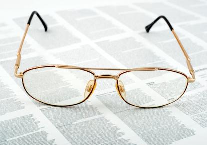 Eyeglasses golden