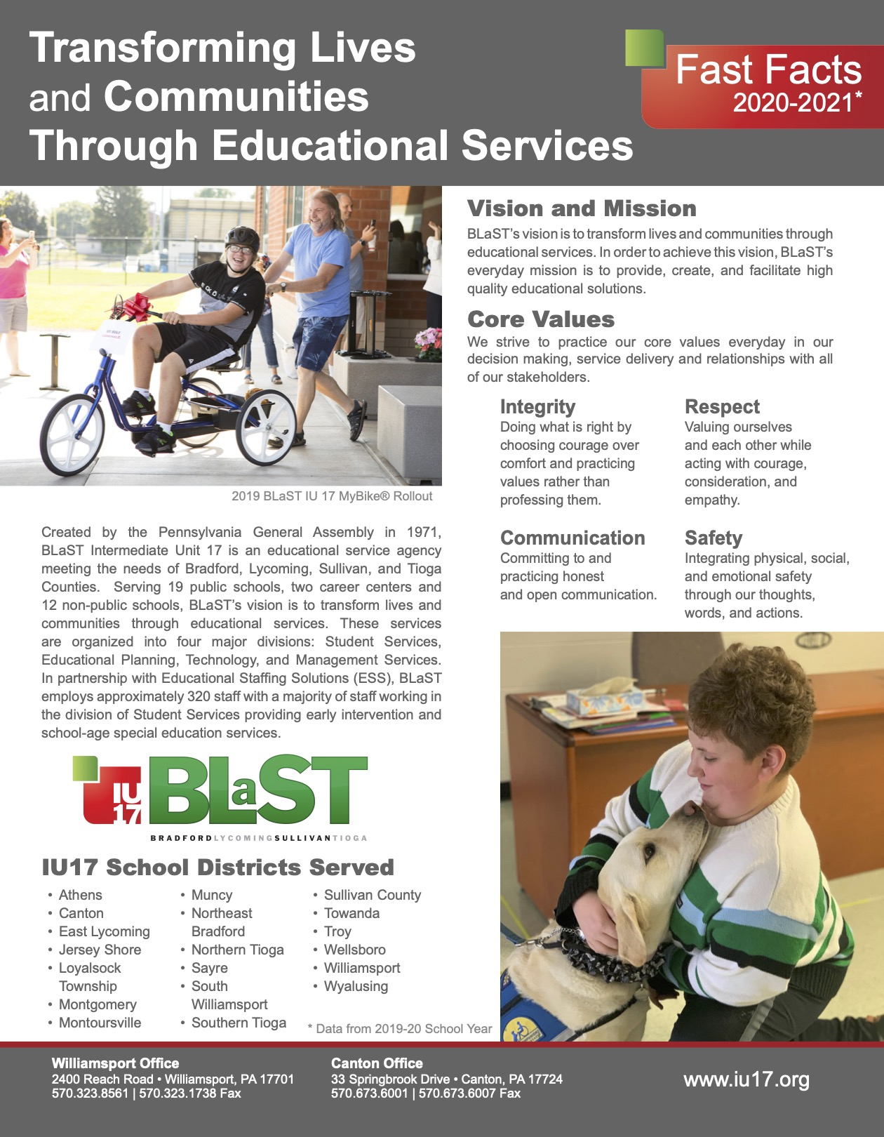 Transforming Lives and Communities Through Educational Services