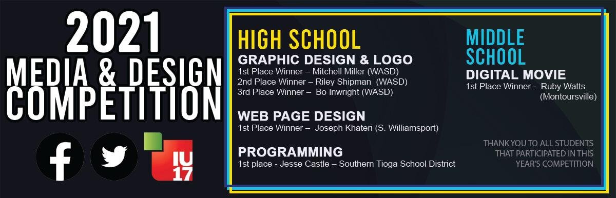 2021 Media and Design Winners