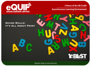 eQUIP letters